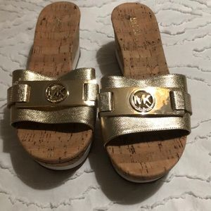 Michael Kors slide on Sandals size 8.5